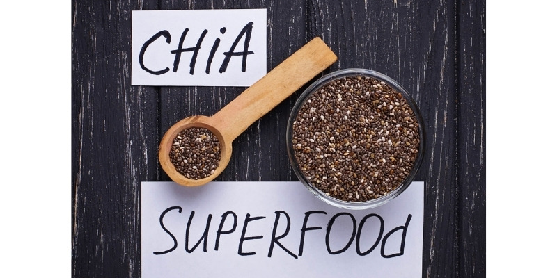 Chia Seeds Are High In Antioxidants