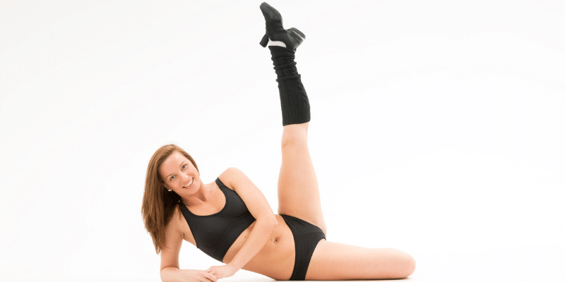 lying down exercises for stomach(Leg Lift With Knee In)