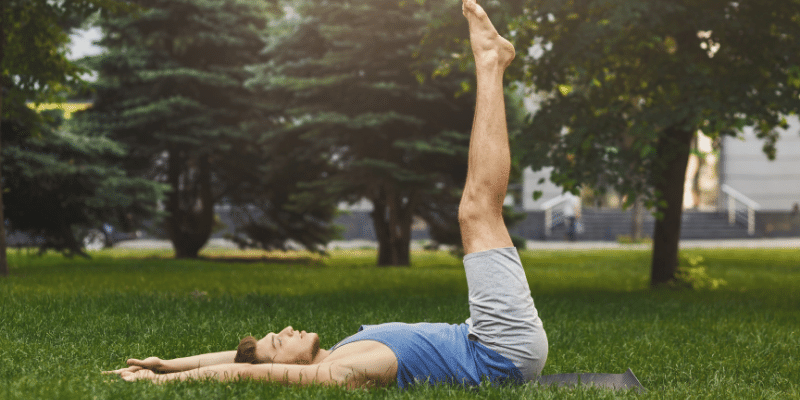 lying down exercises to lose belly fat